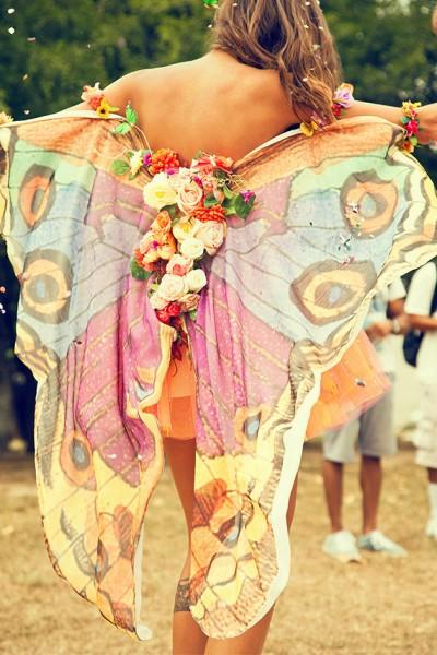 Como uma borboleta...
