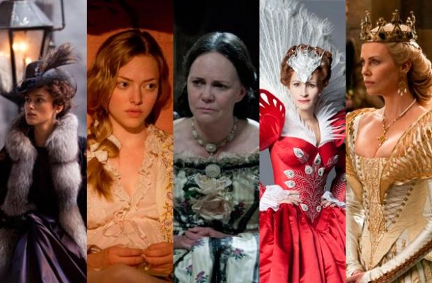 """""""Anna Karenina"""", """"Os Miseráveis"""", """"Lincoln"""", """"Branca de Neve e o Caçador"""", """"Espelho espelho meu""""."""