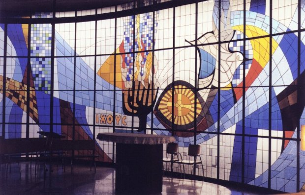 Vitral Colégio dos Jesuítas