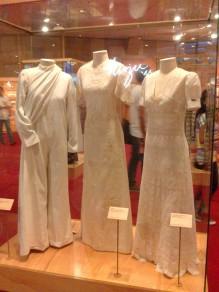 Primeira parte da exposição_ vestidos de noiva