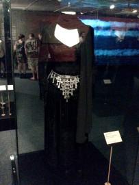 Segunda parte da exposição O traje do luto