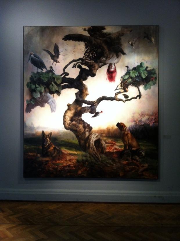 Obra de Guillermo Lorca, exposto no Bellas Artes