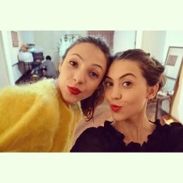 Luciana e Ana Clara - Blog Um Toque para F.Works Produtora de Moda no Guest Fashion