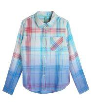 Renner Inf. Camisa Xadrez com Tie Dye R$79,90