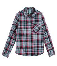 Renner Inf. Camisa Xadrez em Flanela R$ 79,90_